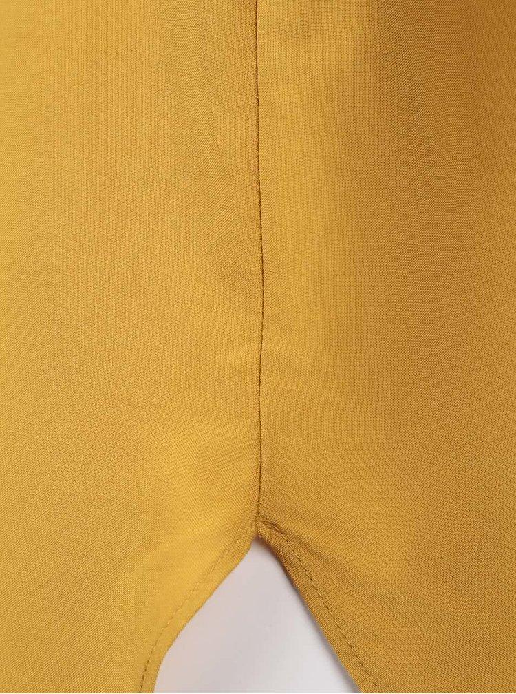 Tricou galben VERO MODA Boca asimetric