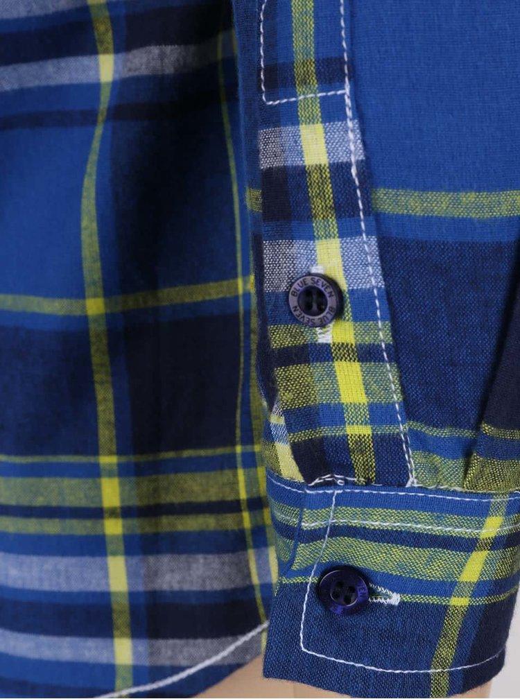 Camasa in carouri Blue Seven galben cu albastru