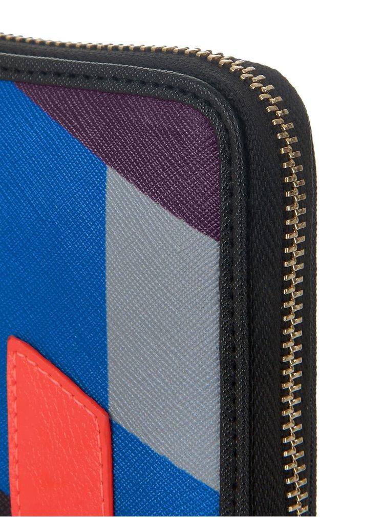 Černá peněženka s barevnými geometrickými vzory Paul's Boutique Lizzie