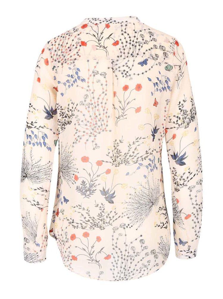 Bluza cu imprimeu floral Haily´s Venus crem