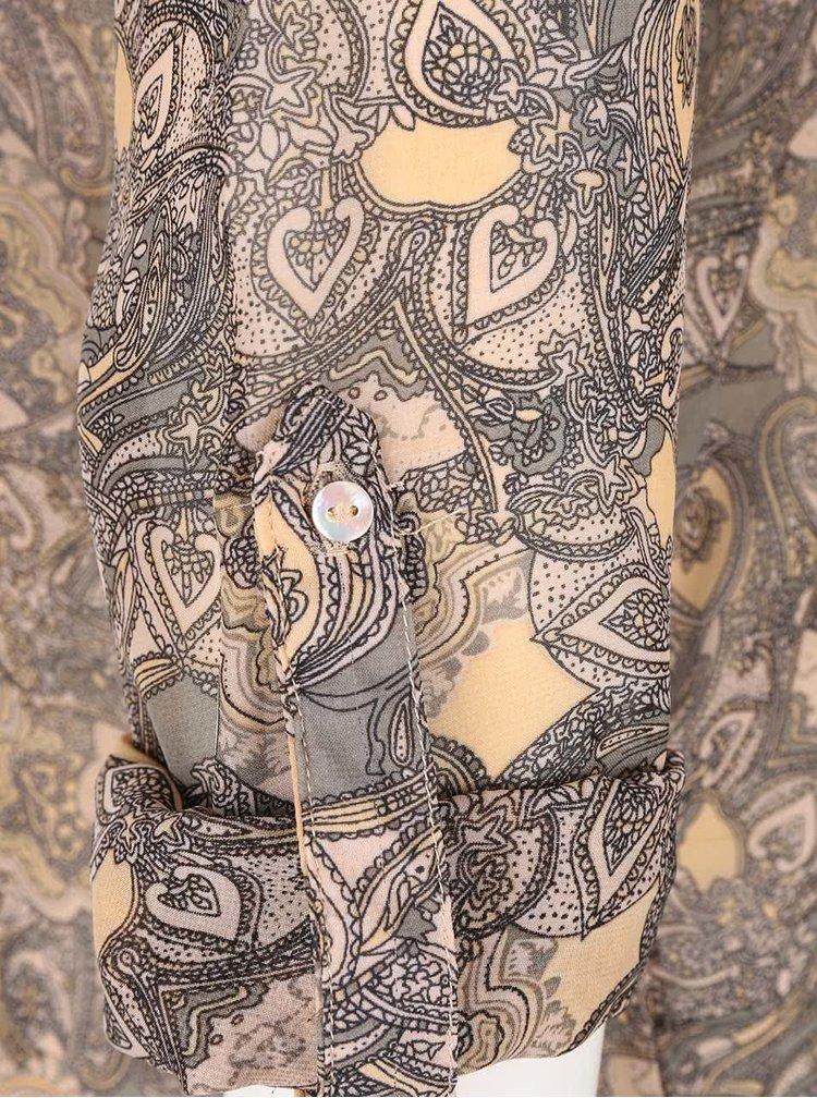 Bluză cu imprimeu Haily´s Venus bej