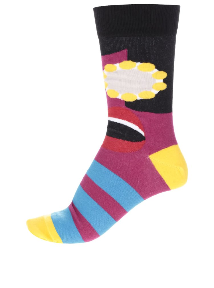Set 6 perechi de șosete multicolore Oddsock Funk pentru bărbați