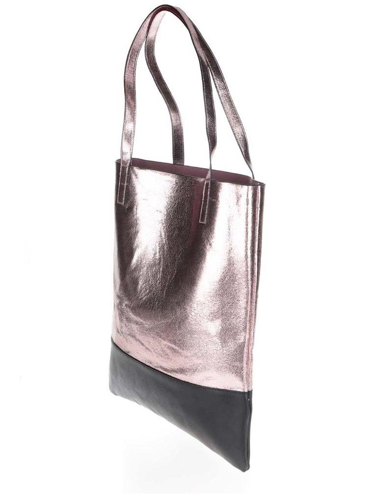Kabelka v růžovozlaté barvě Haily´s Shiny