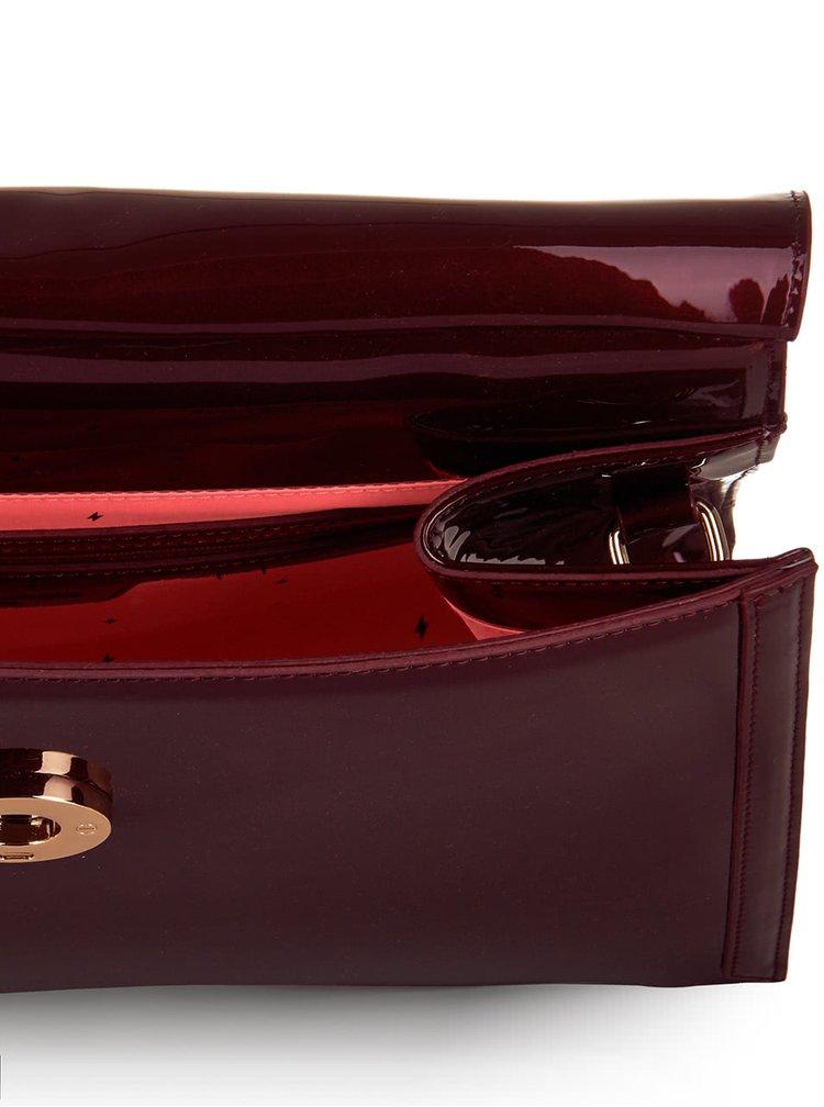 Vínová kabelka s klopou Paul's Boutique Amber