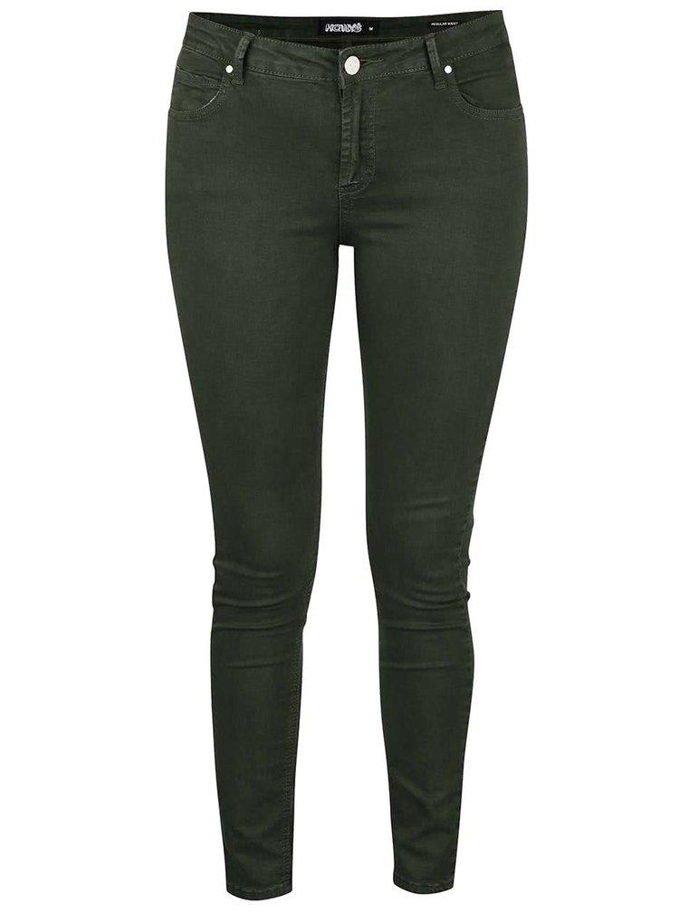 Khaki skinny džíny Haily´s Hanna
