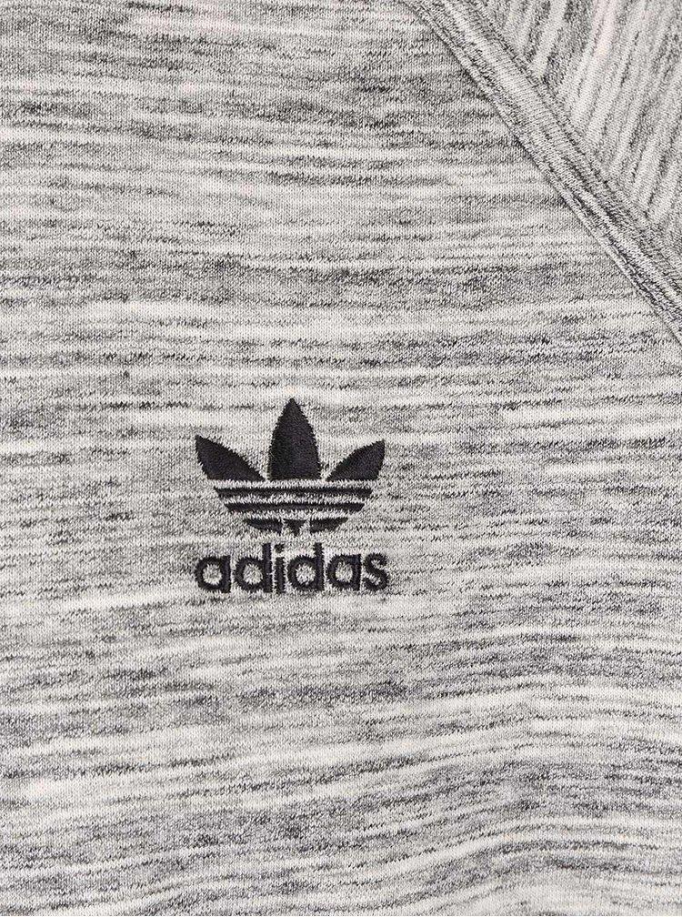 Sivá melírovaná pánska mikina adidas Originals