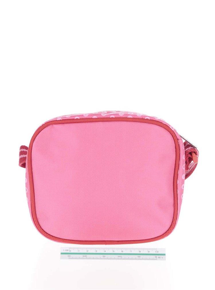 Geantă roz Tyrrell Katz Elephants crossbody pentru fete