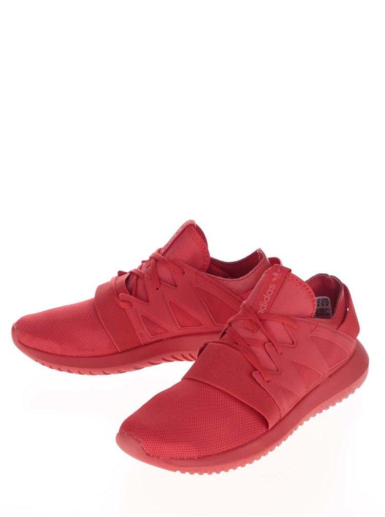 Červené dámske tenisky adidas Originals Tubular