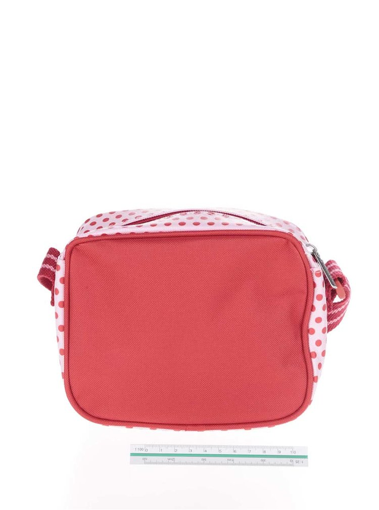 Červeno-růžová holčičí crossbody taška Tyrrell Katz Ballet