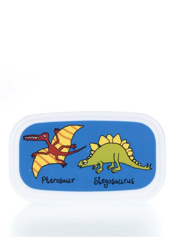 Sada tří barevných klučičích svačinových boxů Tyrrell Katz Dinosaurus