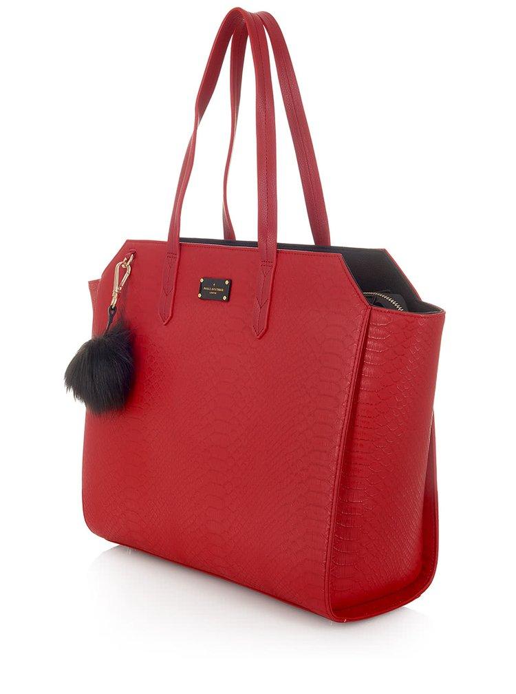 Geantă roșie Paul's Boutique Ally de mână