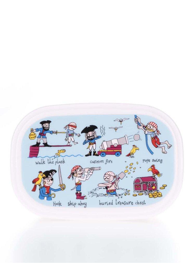 Set 3 cutii pentru gustări Tyrrell Katz Pirates pentru băieți