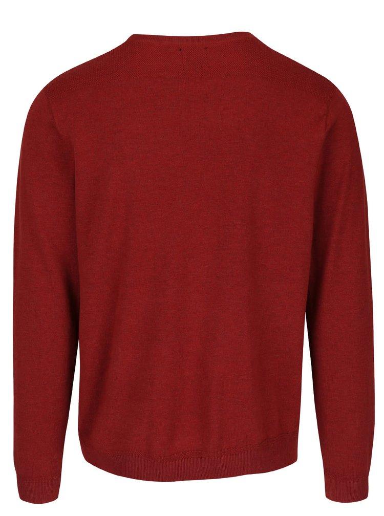 Cihlový svetr Burton Menswear London