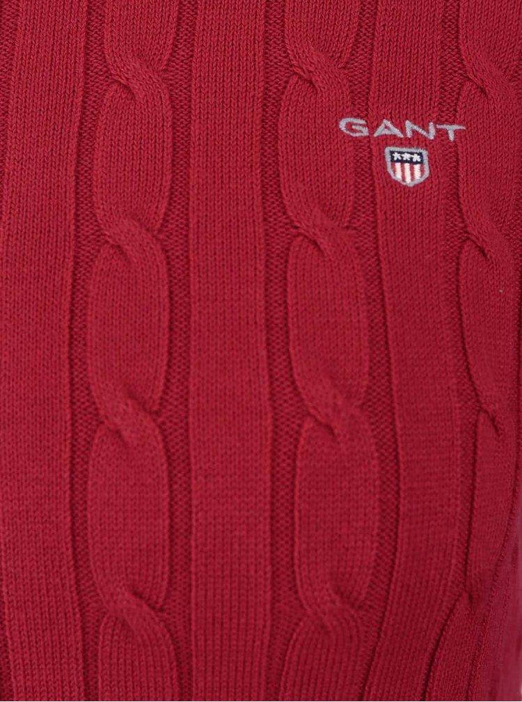 Červený dámsky sveter GANT