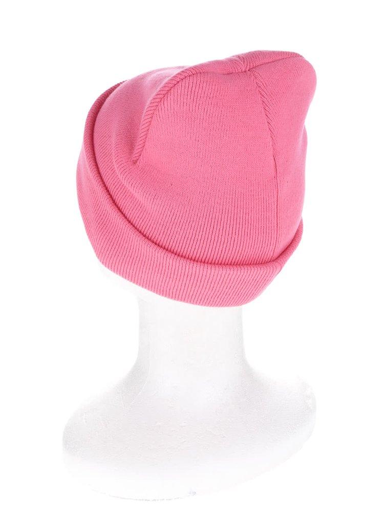 Ružová čiapka s výšivkami Miss Selfridge