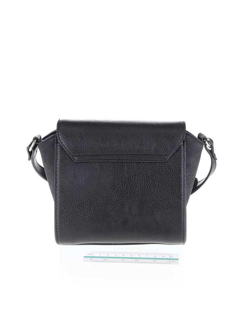 Geanta crossbody neagra Pieces Penriette