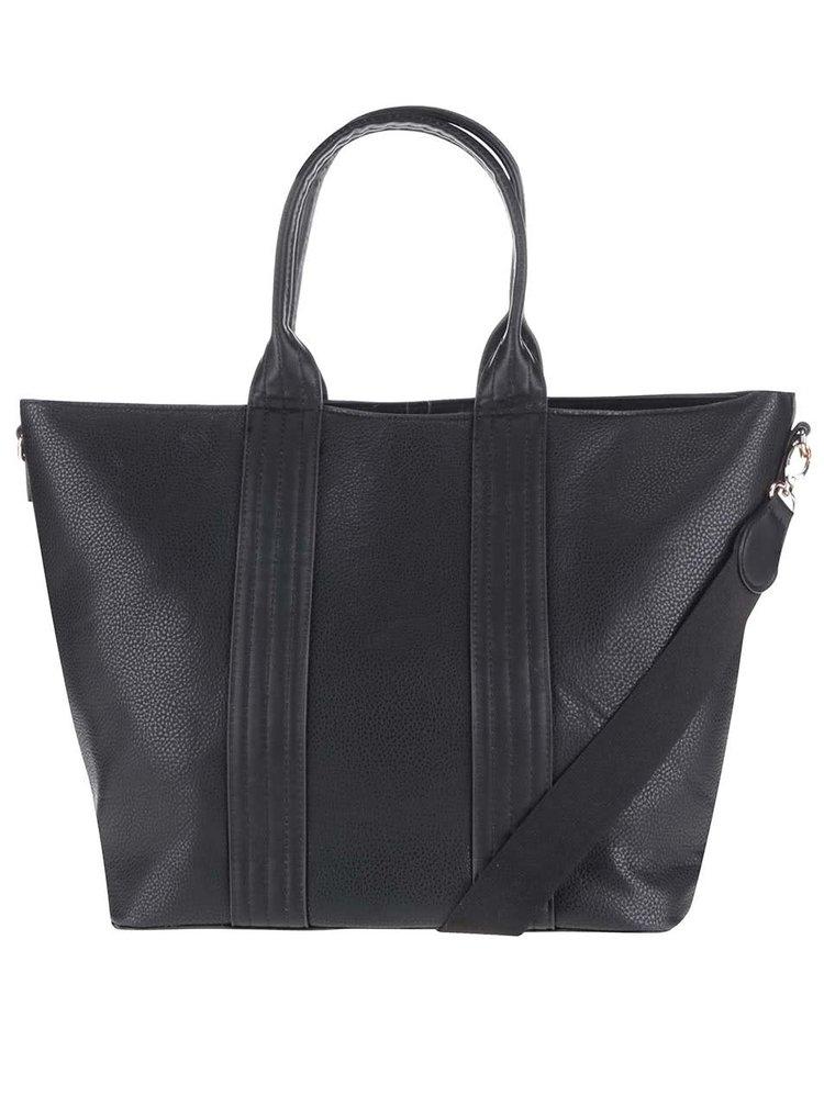 Čierny shopper Pieces Philis