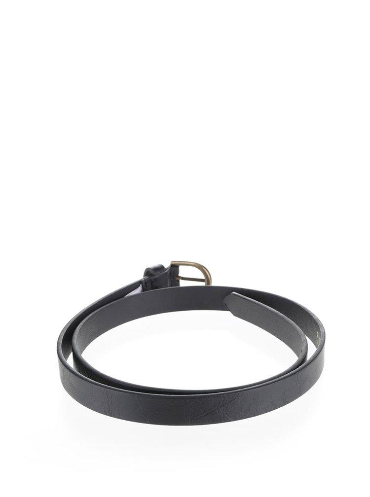 Černý pásek Pieces Elegance