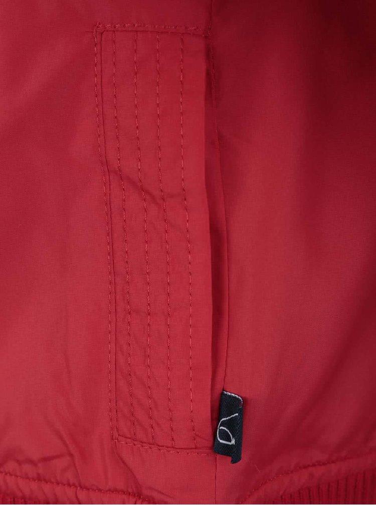 Červená chlapčenská bunda North Pole Kids