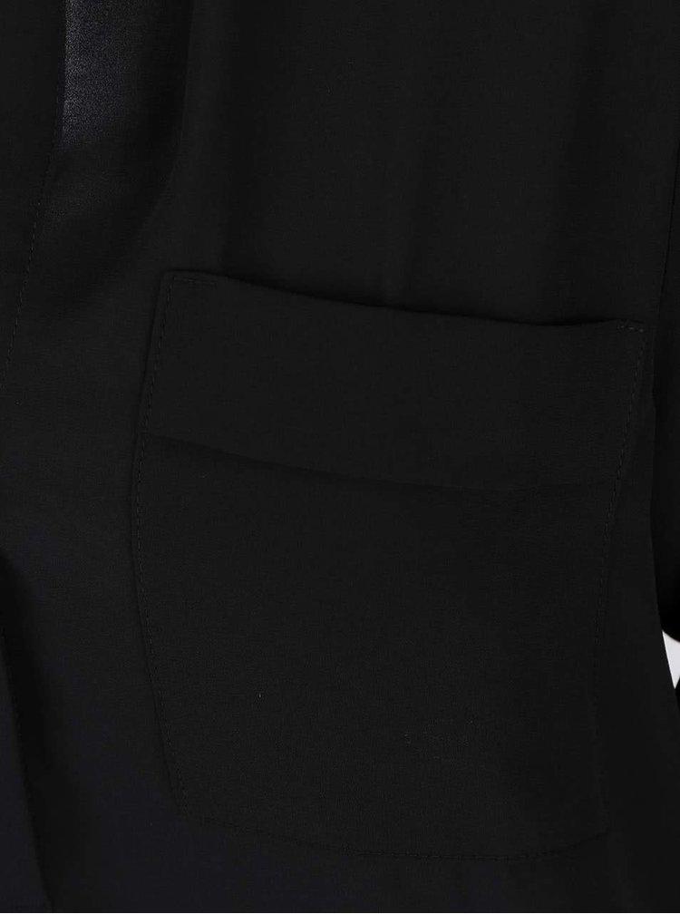 Bluza neagra Dorothy Perkins tip tunica