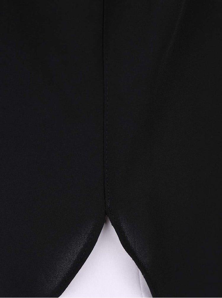 Bluză neagră Dorothy Perkins tip tunică