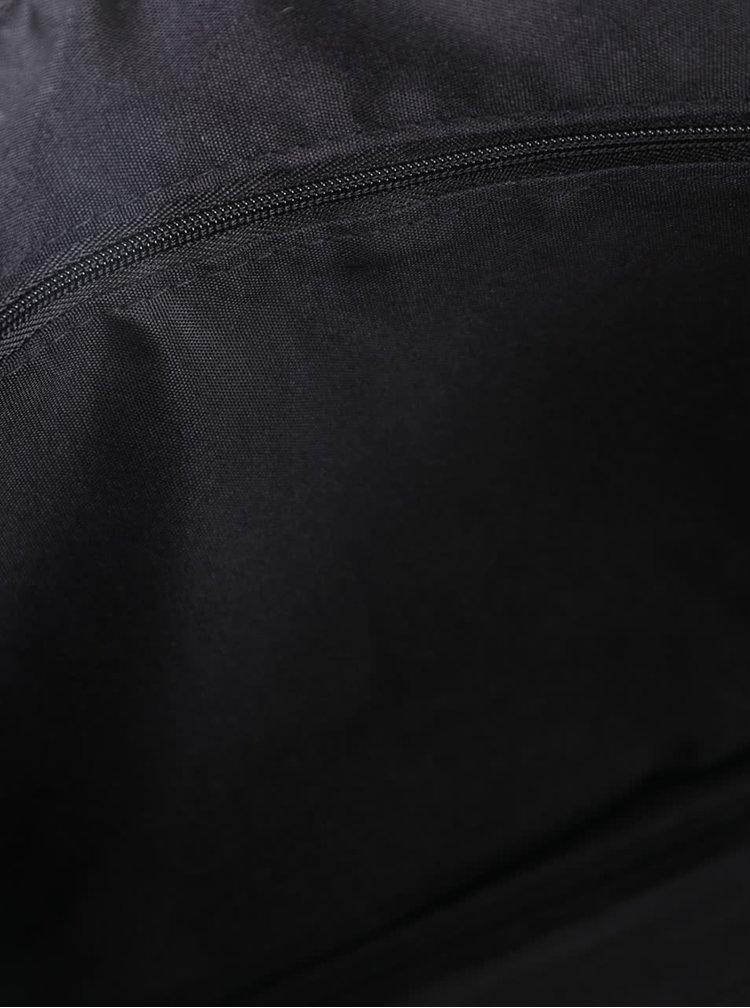 Béžovo-čierna perforovaná listová kabelka Dorothy Perkins