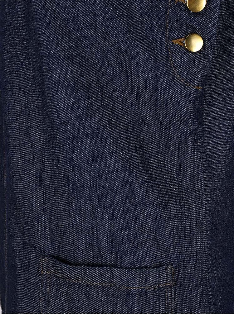 Rochie albastră Dorothy Perkins Petite din denim