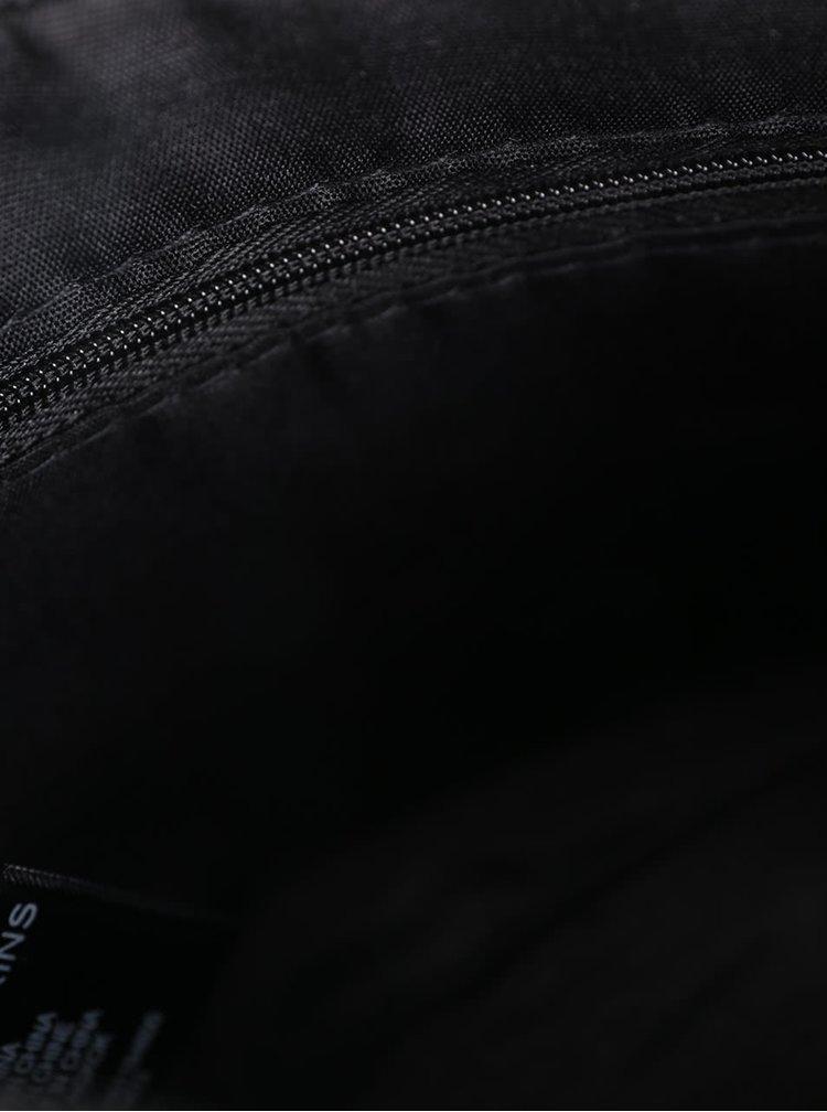 Geantă plic neagră Dorothy Perkins cu aspect peliculizat