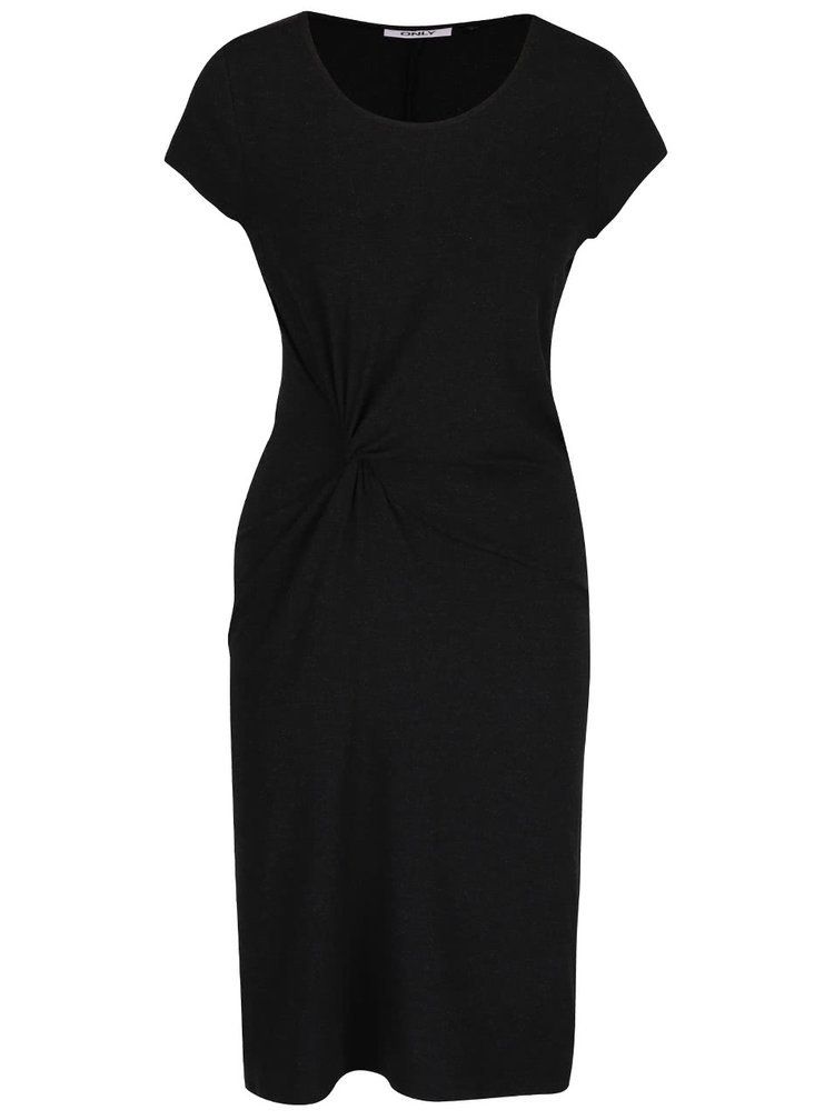 Rochie neagră bodycon ONLY Moster