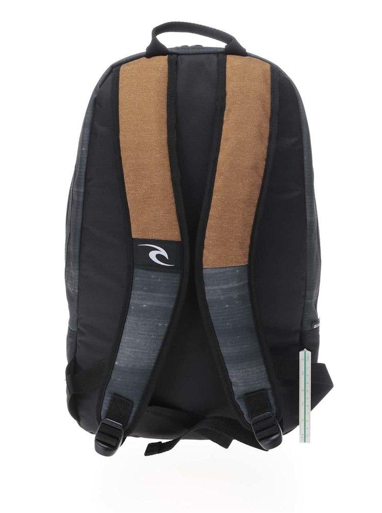 Šedo-hnědý pánský batoh  Rip Curl Stacker Craft 22 l