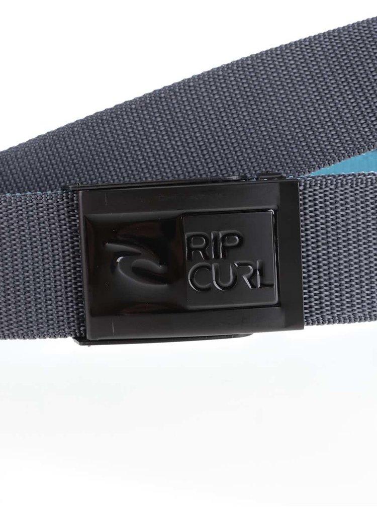 Curea gri Rip Curl Ripper Revo Webbed Belt