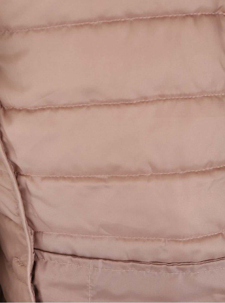 Jachetă matlasată bej ONLY Marit