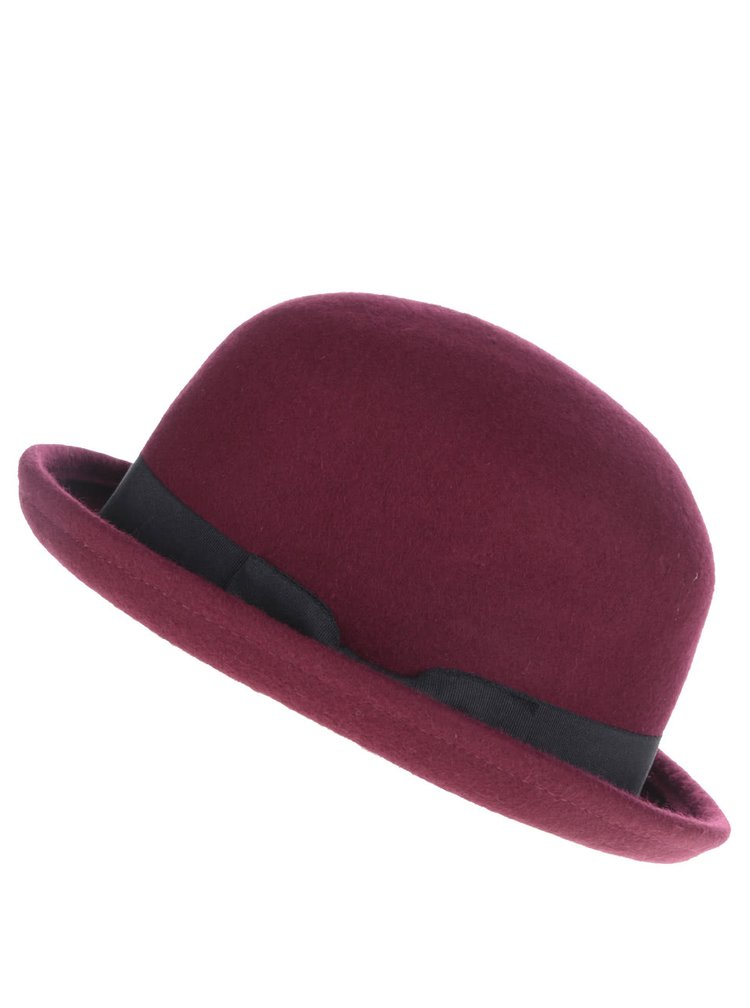 Vínový klobúk ONLY Shaya
