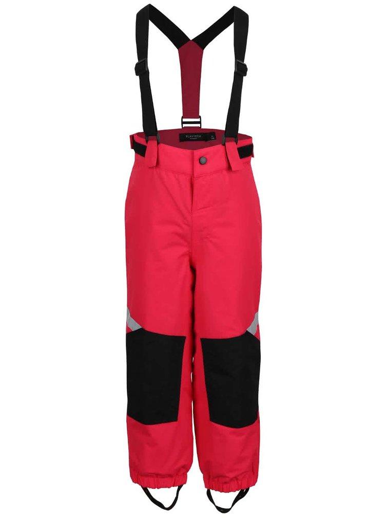 Ružové dievčenské zimné nohavice name it Wind