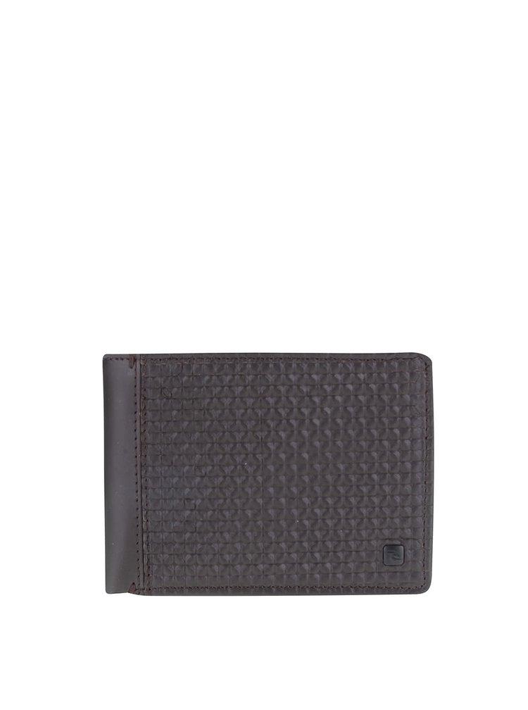 Hnedá pánska kožená peňaženka Rip Curl Free Design All Day