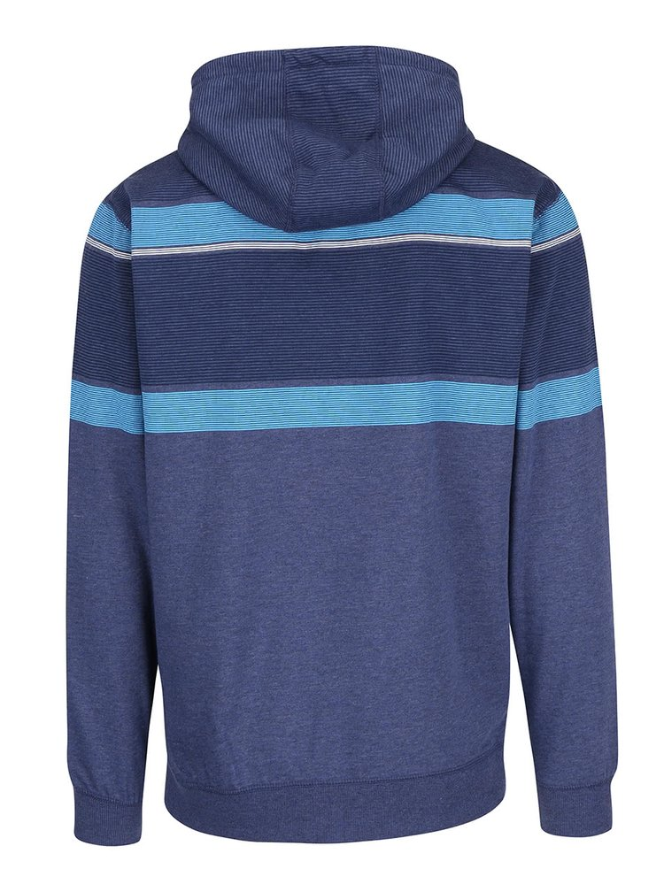 Hanorac albastru Rip Curl Lines ZT cu model discret pentru bărbați