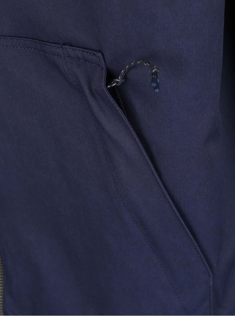 Modrá pánská bunda s kapucí Rip Curl One Shot Anti