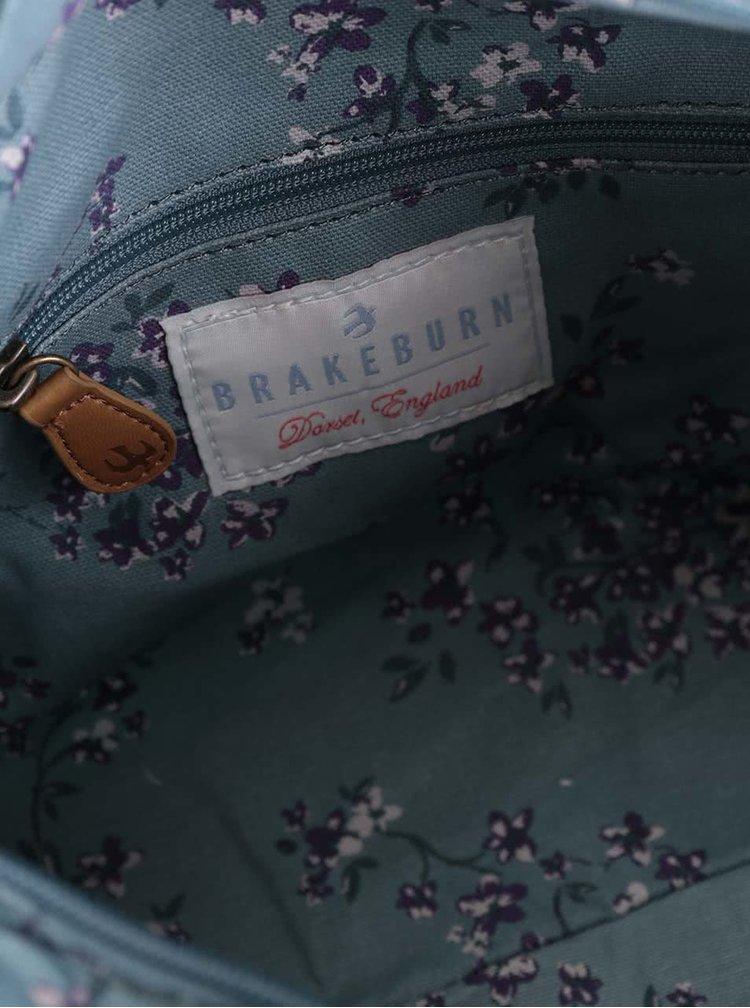 Geantă albastru deschis Brakeburn Blossom cu imprimeu floral