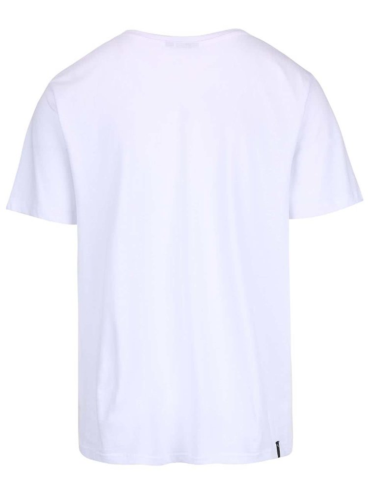 Tricou alb Rip Curl Corp G/B Day SS Tee din bumbac pentru barbati