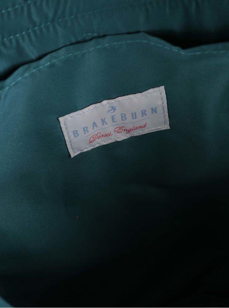 Světle modrý batoh s potiskem kol Brakeburn Bikes