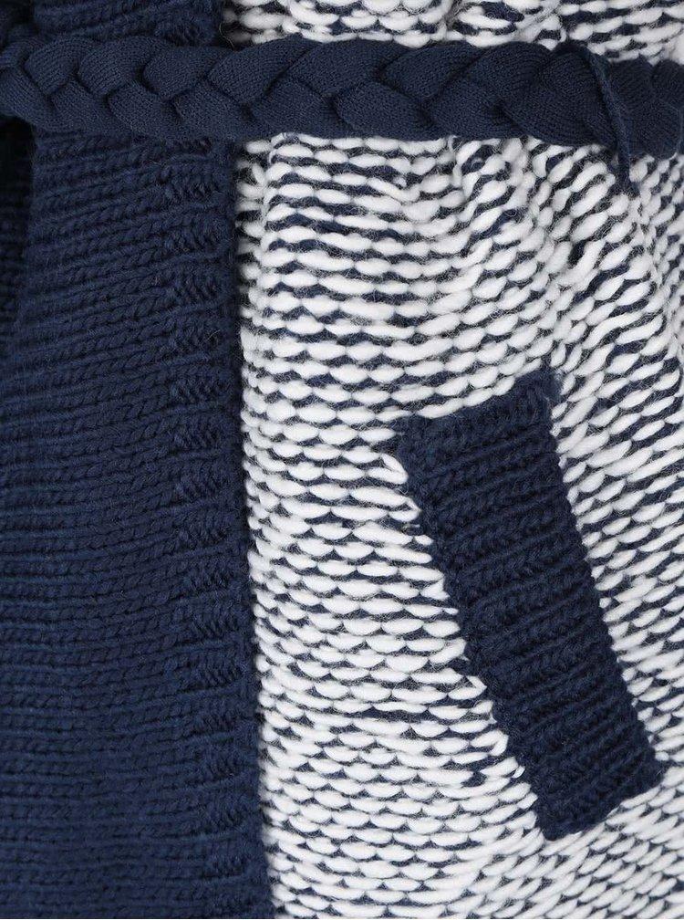 Cardigan lung albastru & crem Rip Curl Axo pentru femei