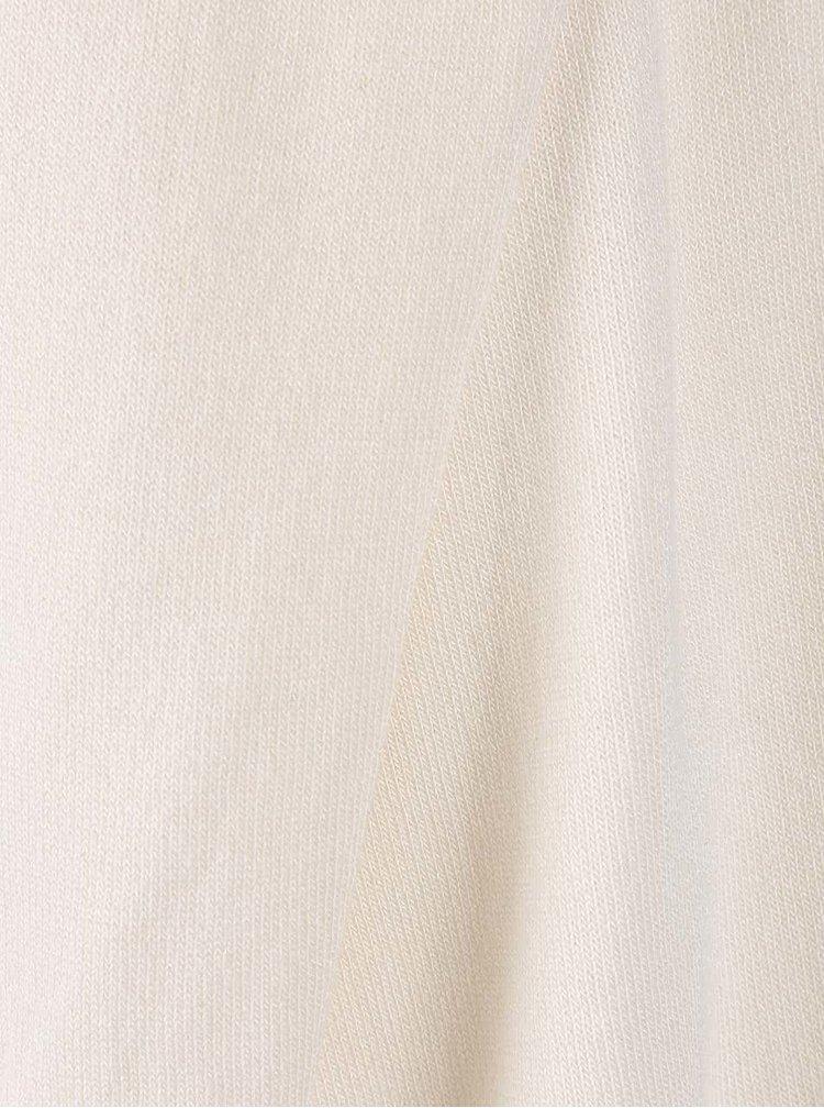 Krémový cardigan s překládanou přední částí VILA Josa
