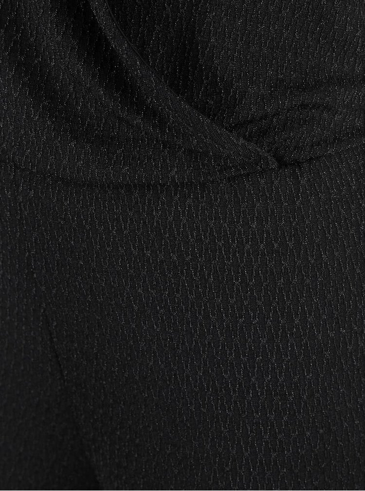 Salopetă neagră ONLY Cicilia cu bretele subțiri