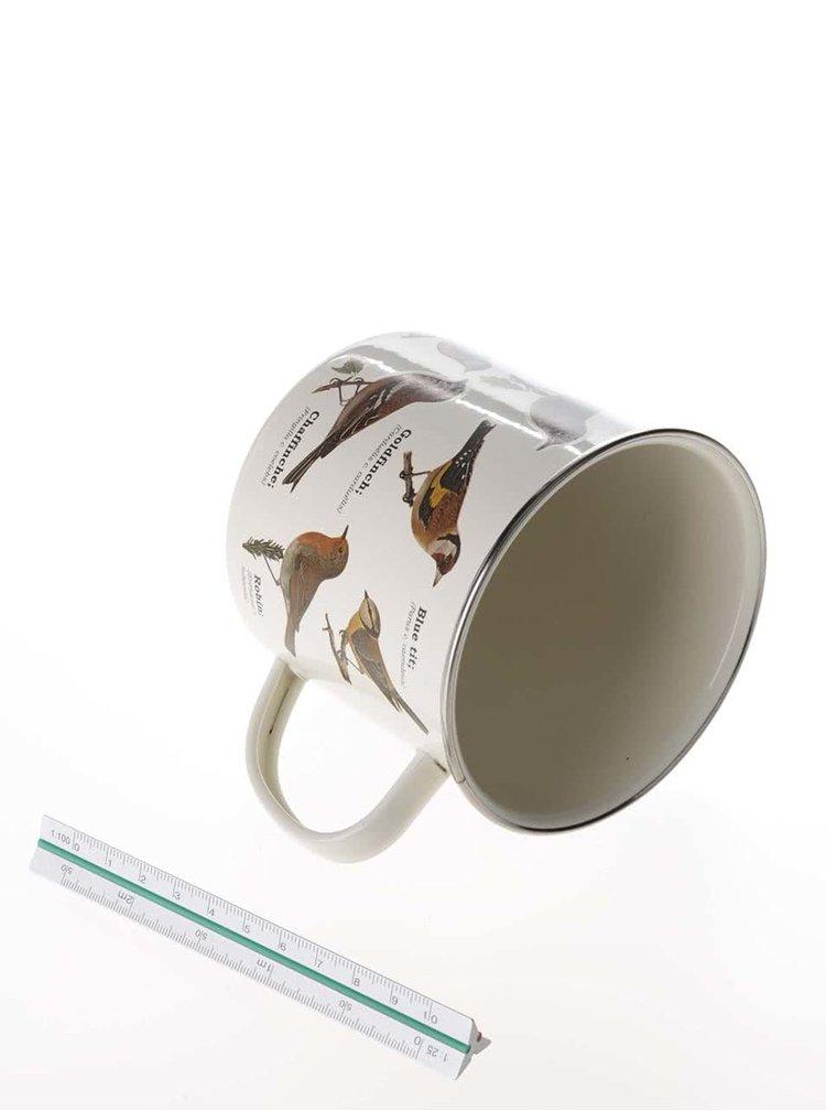 Cană cu imprimeu cu păsări Gift Republic