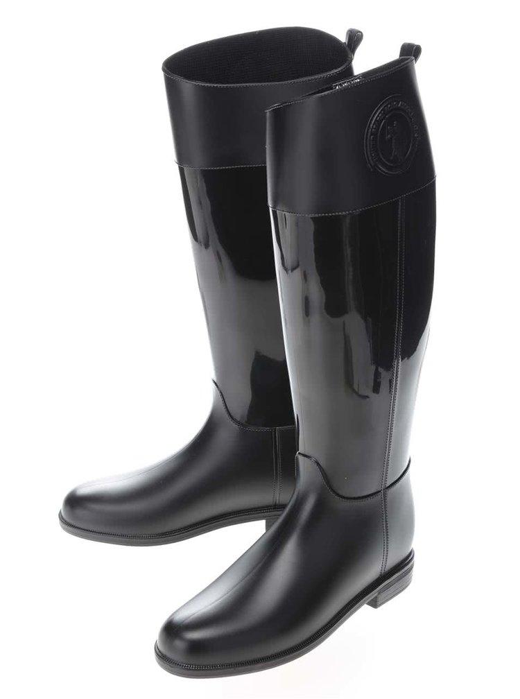 Čierne dámske gumáky U.S. Polo Assn. Fiordalis