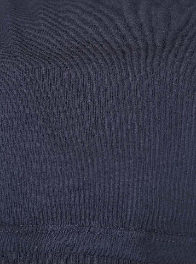 Bluză cu umerii goi din bumbac VILA Frilli bleumarin