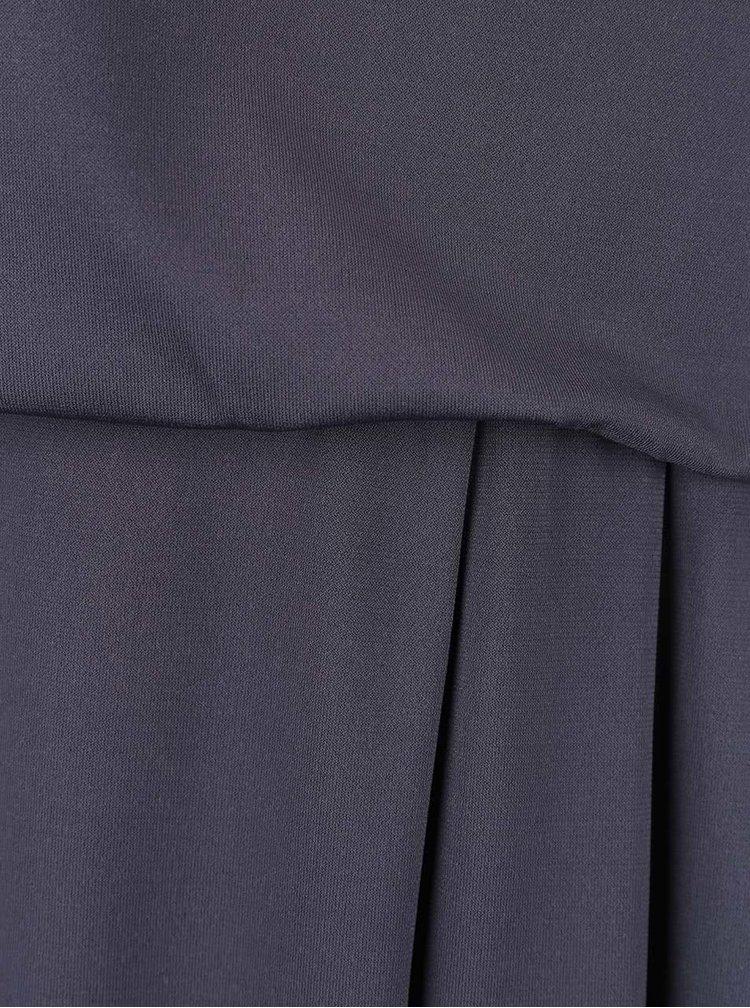 Rochie gri asimetrică VILA Palli