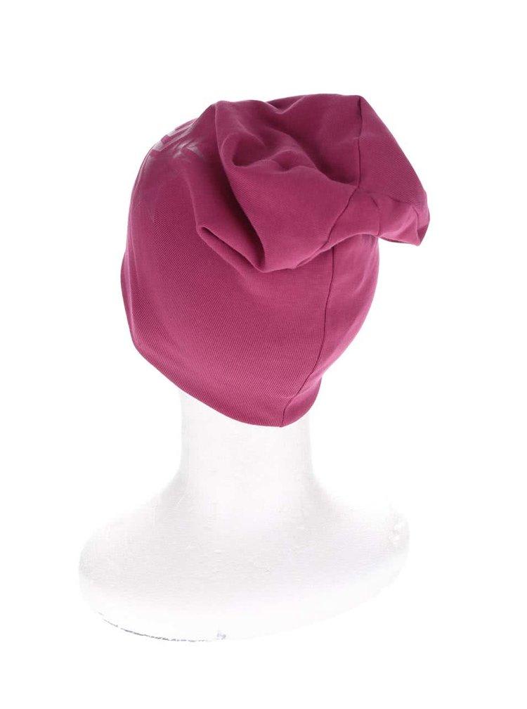Tmavě růžová holčičí čepice name it Moppy