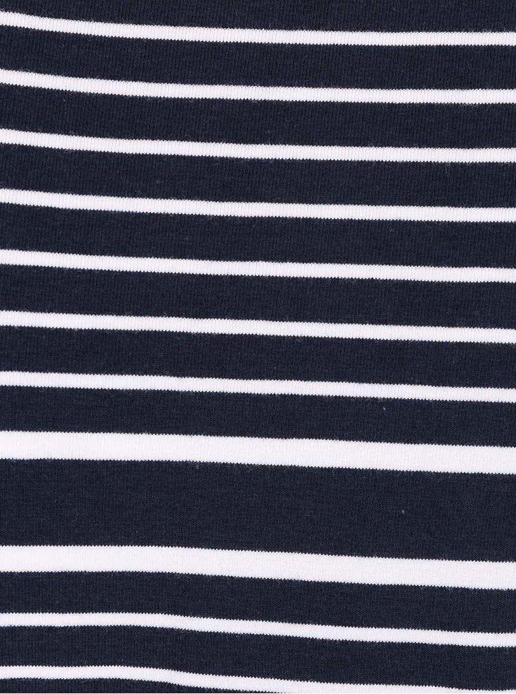 Body albastru ultramarin Noisy May Augusta cu dungi