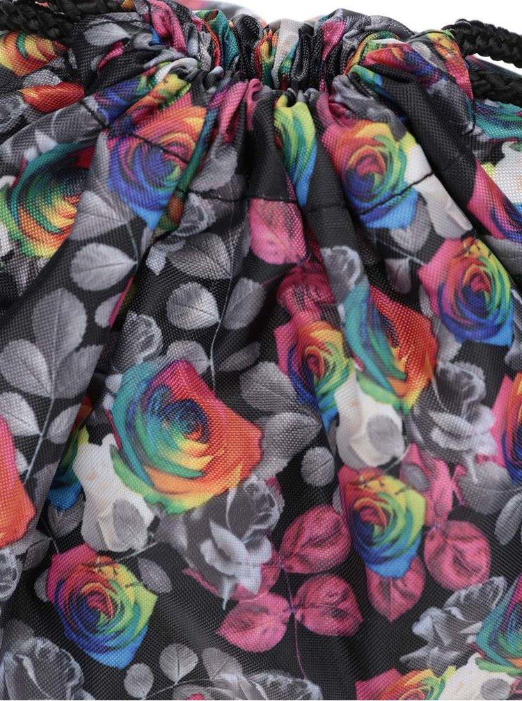 Černý dámský vak s barevným vzorem Vans Benched